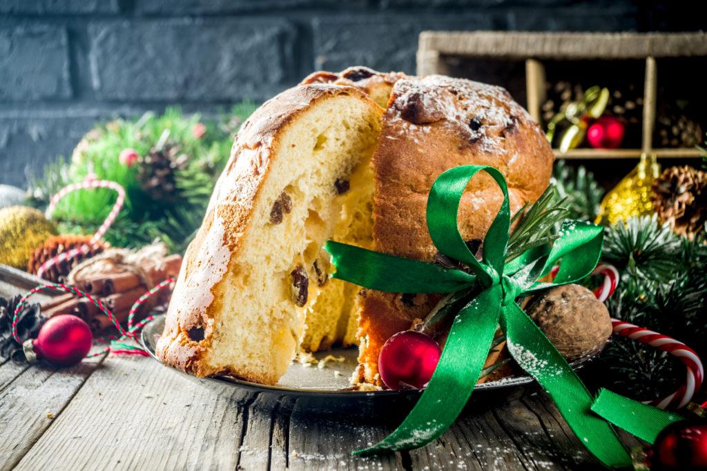Italienische Weihnacht mit Panettone