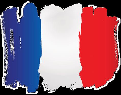 Flagge Frankreich - Französisch lernen